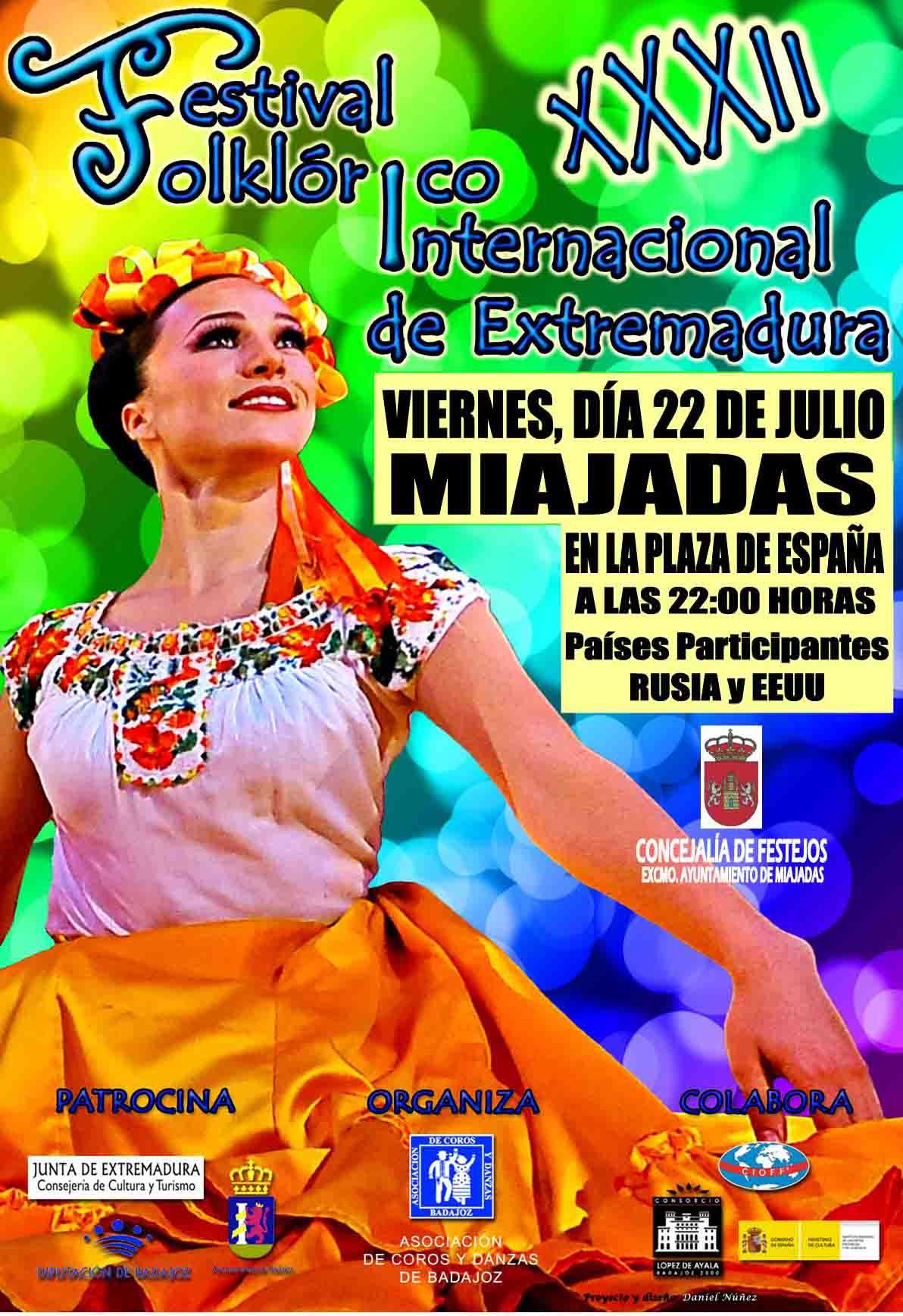 XXXII Edición del Festival Folklórico Internacional de Extremadura
