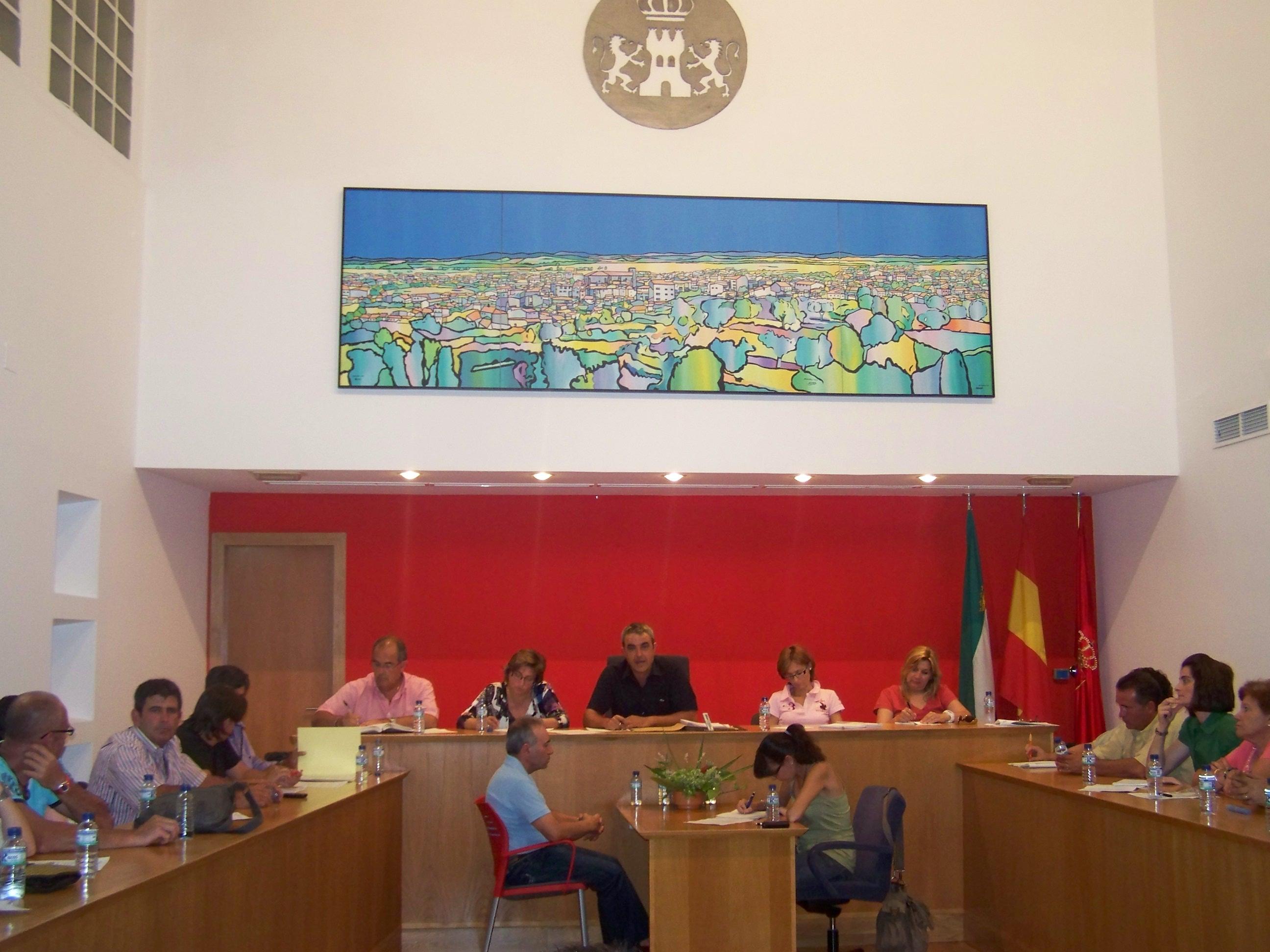 Se aprueba en pleno las funciones de los nuevos concejales