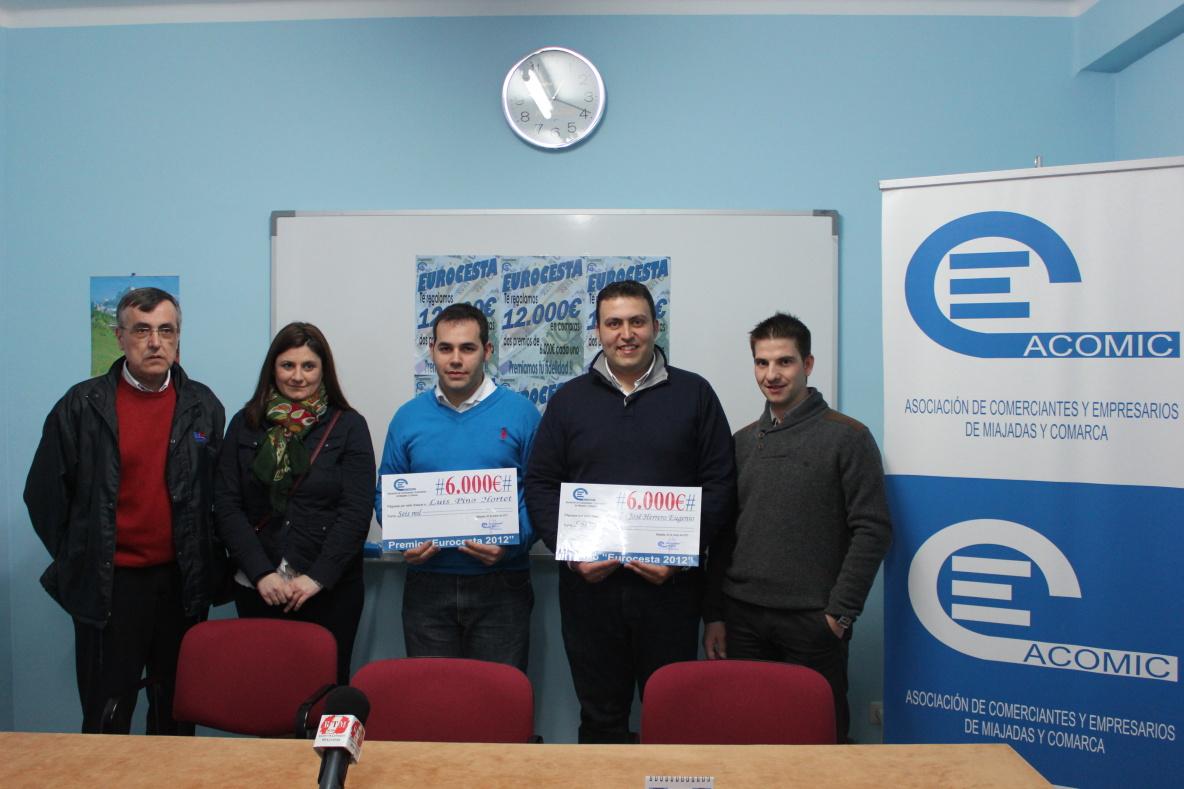 Acomic entrega los premios de la 'Eurocesta'