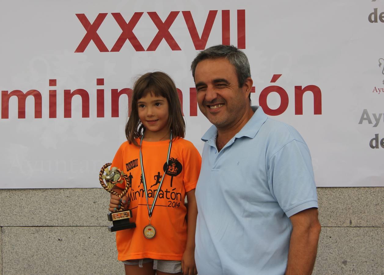 Entrega de Trofeos Maratón 2014