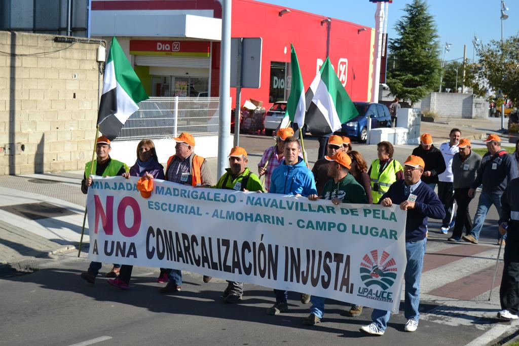 Marcha protesta a Mérida