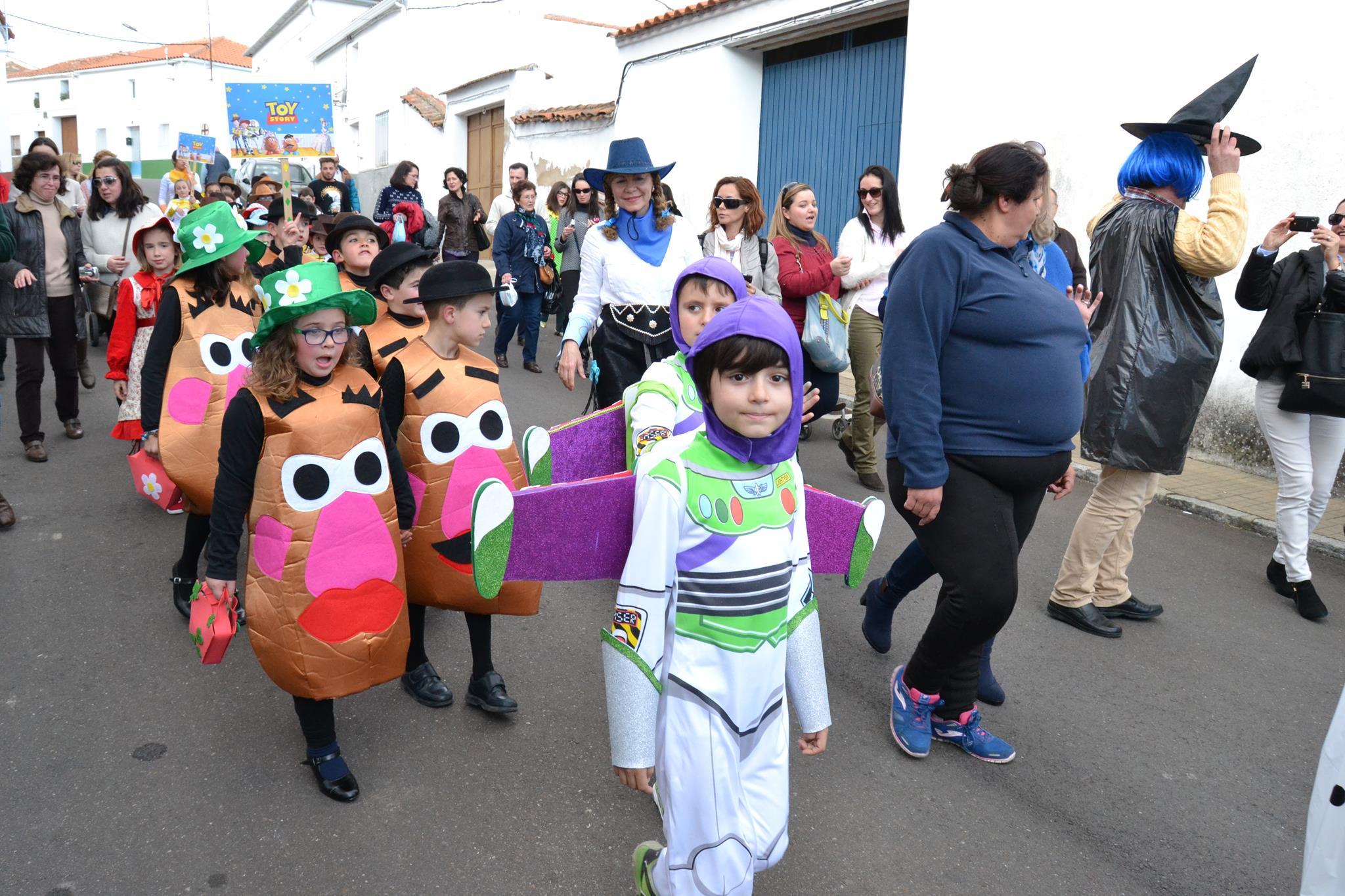 Desfile del ColegioSagrado Corazón