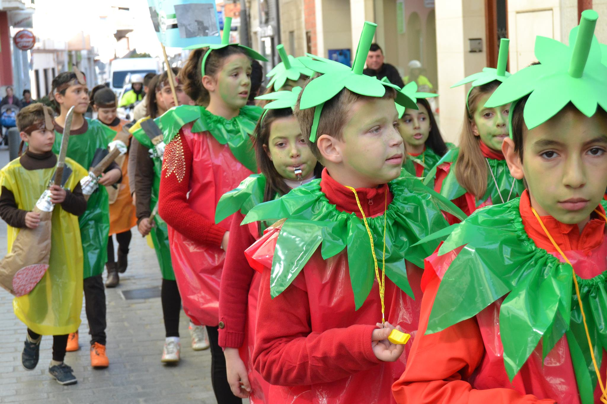Desfile del Colegio Guadalupe